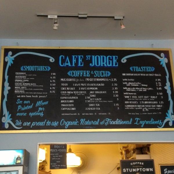 Das Foto wurde bei Cafe St. Jorge von Matt S. am 7/27/2013 aufgenommen