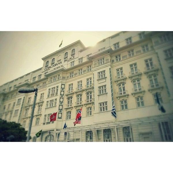 3/30/2014에 Gabriel B.님이 Belmond Copacabana Palace에서 찍은 사진