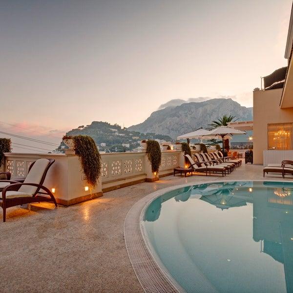 Снимок сделан в Capri Tiberio Palace пользователем Capri Tiberio Palace 7/8/2013