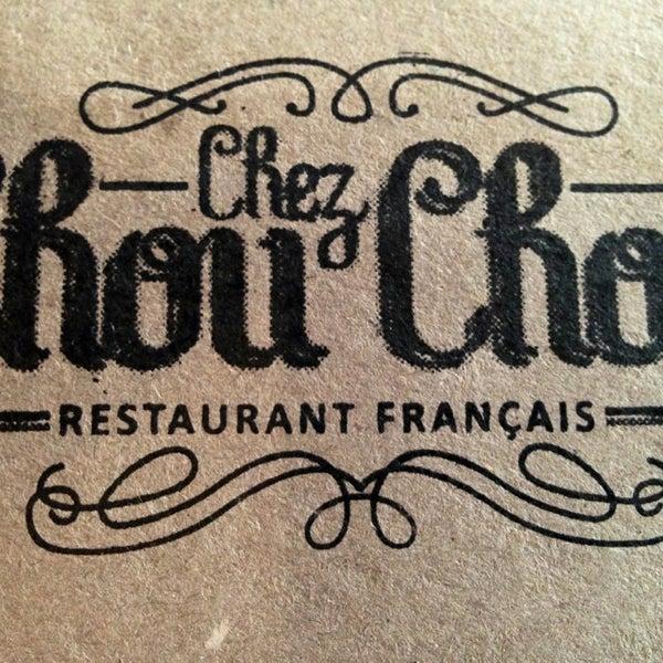 Foto diambil di Chez Chouchou oleh Ju M. pada 8/10/2013