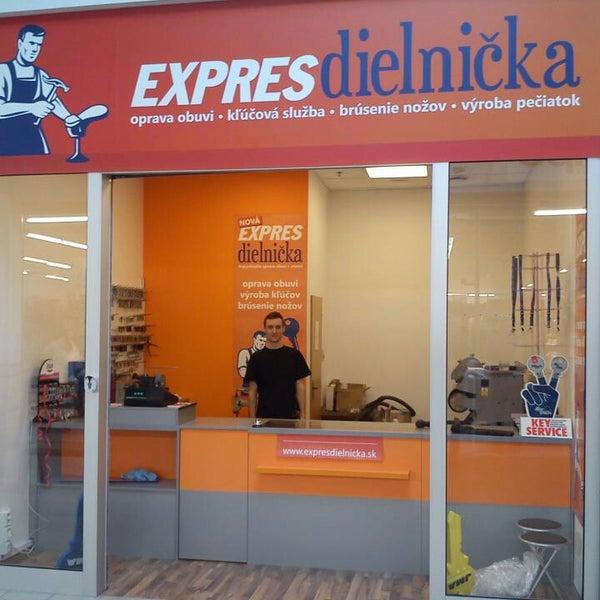 79f47feae Photo taken at EXPRESdielnička by Radovan K. on 10/9/2013