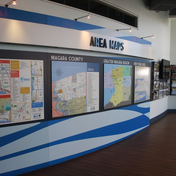 Das Foto wurde bei Niagara Falls USA Official Visitor Center von Niagara Falls USA Official Visitor Center am 9/21/2015 aufgenommen