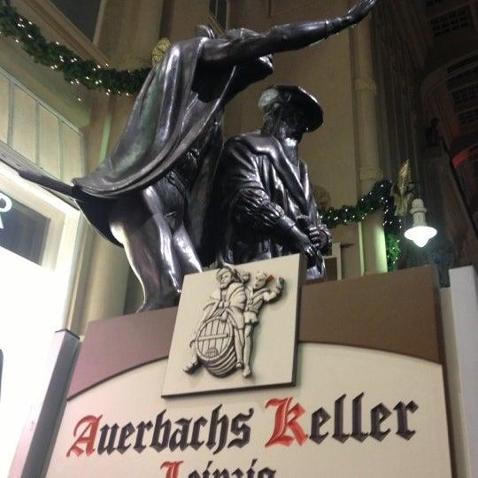 Das Foto wurde bei Auerbachs Keller von Claudia S. am 12/14/2012 aufgenommen