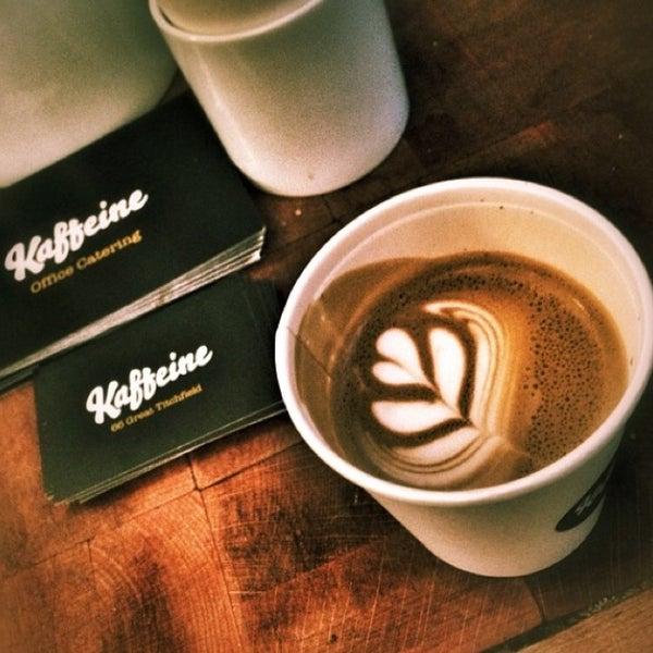 Photo prise au Kaffeine par B A. le3/19/2014