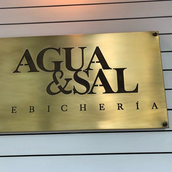 Foto diambil di Agua y Sal Cebichería oleh Tim P. pada 2/26/2019