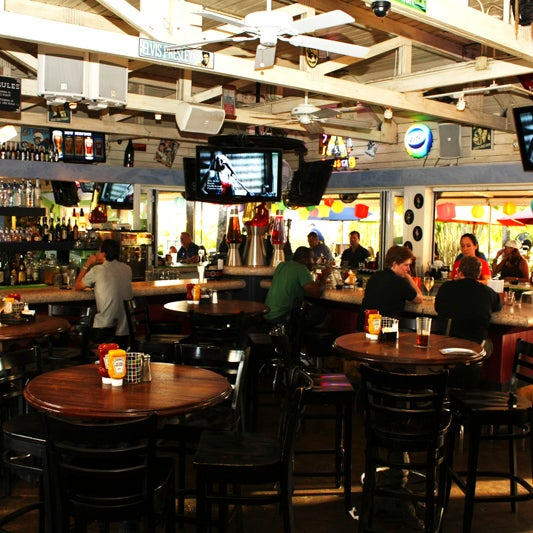 Formerly Hamburger Mary's, Rosie's is a mini paradise in the middle of Wilton Manors.
