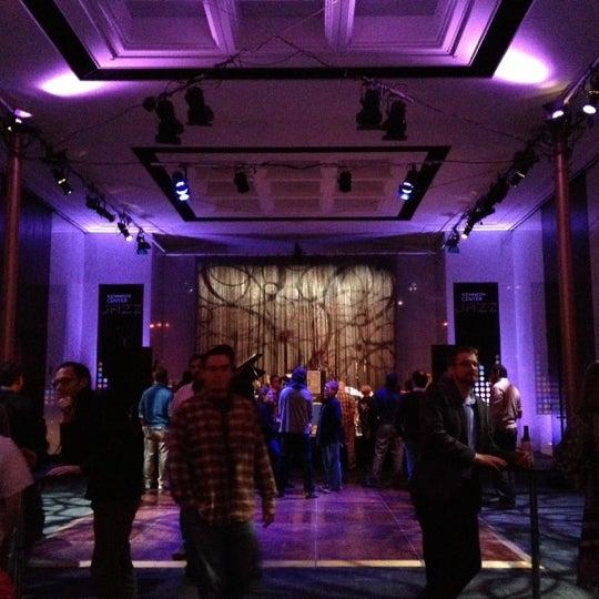 Снимок сделан в The John F. Kennedy Center for the Performing Arts пользователем Camille S. 10/14/2012