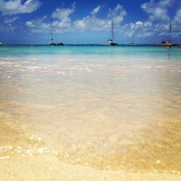 Private Beaches: Anse Marcel Private Beach
