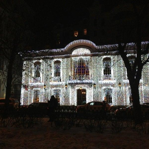 1/2/2013 tarihinde Григорий🎩 Я.ziyaretçi tarafından Cafe Pushkin'de çekilen fotoğraf