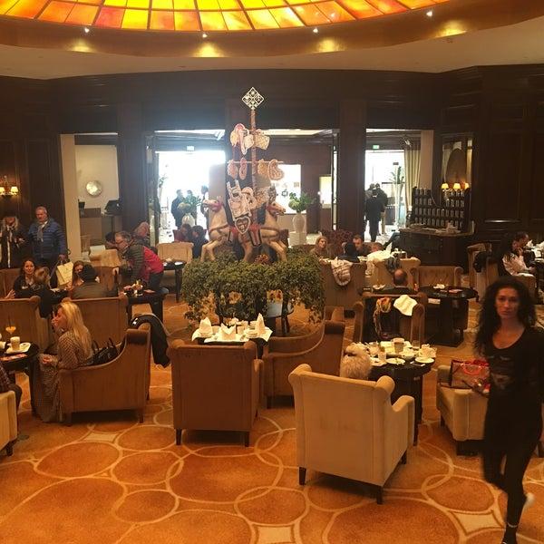 Çok güzel otel . Lobisinde çay saatindeki tatlılar harikaydı 😍💗