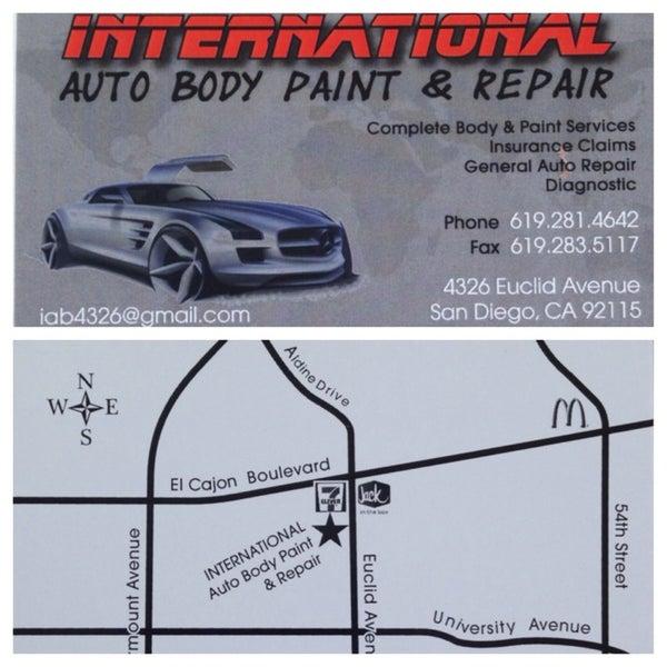 Photos At International Auto Body Paint Repair
