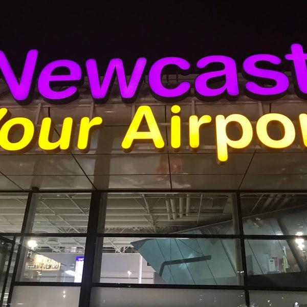 Das Foto wurde bei Newcastle International Airport von jansen c. am 4/5/2019 aufgenommen