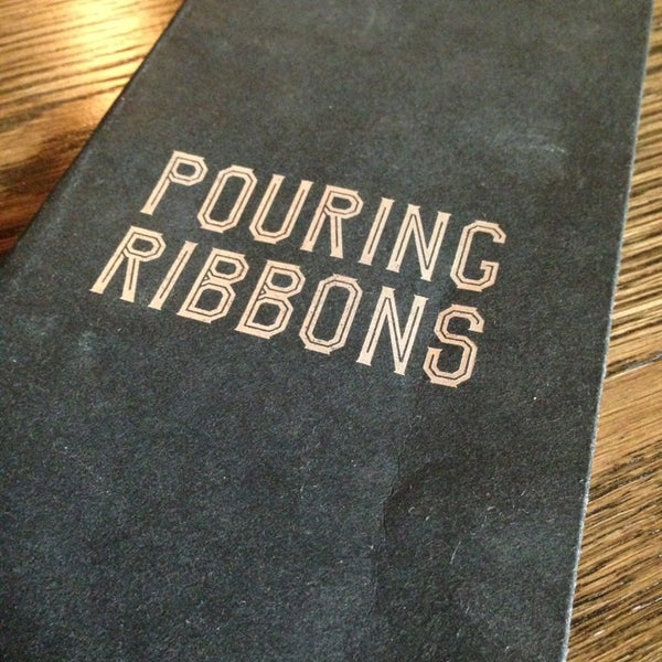 Снимок сделан в Pouring Ribbons пользователем SkeeterNYC 7/26/2013