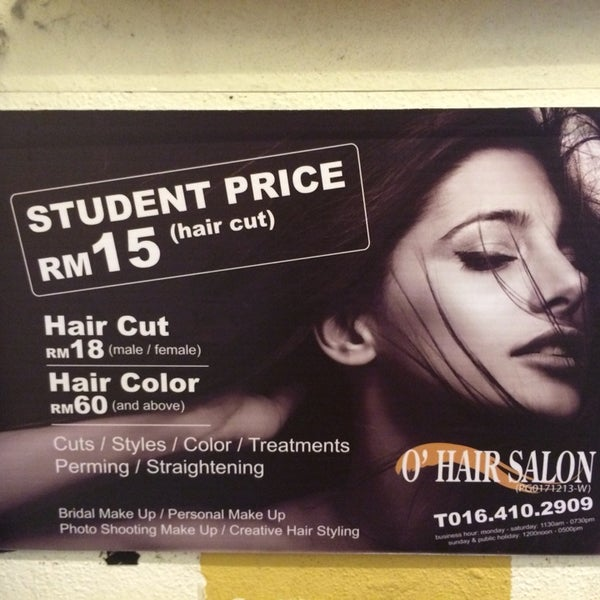 Photos At O Hair Salon Salon Barbershop In Gelugor