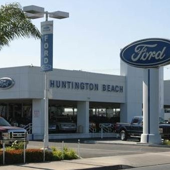 Photo Taken At Huntington Beach Ford By Bethany M On 1 9 2016