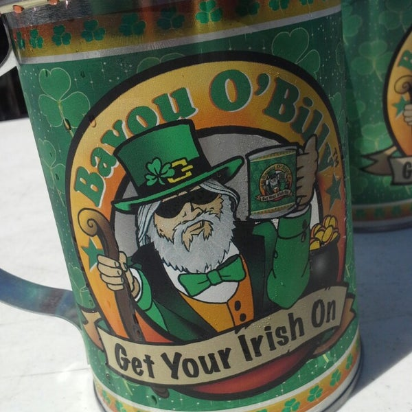 Mugs & Cups Bayou Billy Drinking Mug Irish Version Never Used Advertising