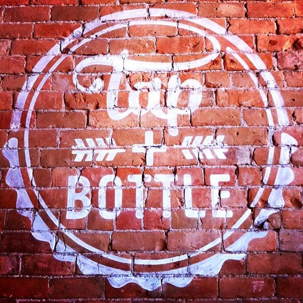 Снимок сделан в Tap & Bottle пользователем Tap & Bottle 7/25/2013