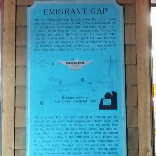 nyack emigrant gap ca foursquare