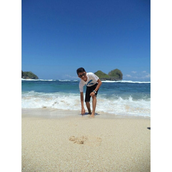 Photos At Pantai Goa Cina Malang