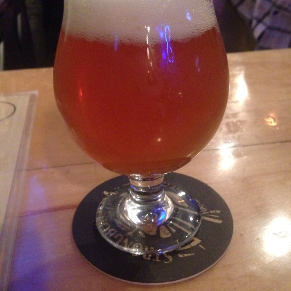 The habenero IPA is magic on your lips. And fire.