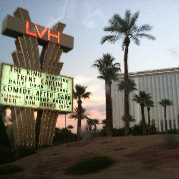 Снимок сделан в LVH - Las Vegas Hotel & Casino пользователем Suna S. 8/23/2013