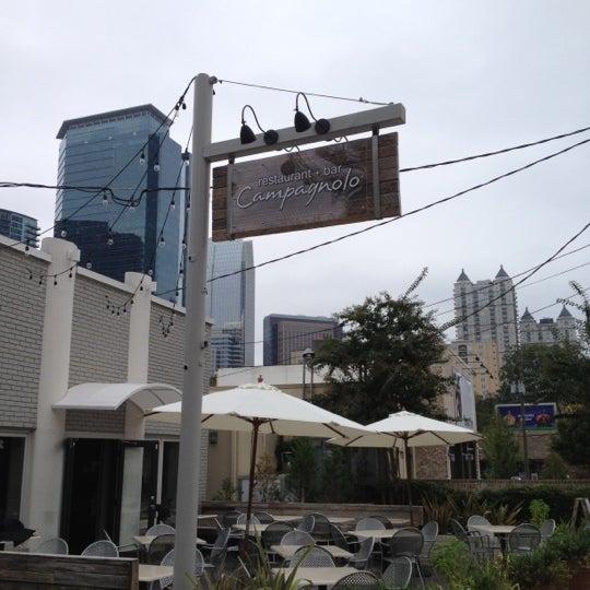Das Foto wurde bei Campagnolo Restaurant + Bar von Patrick M. am 10/28/2012 aufgenommen