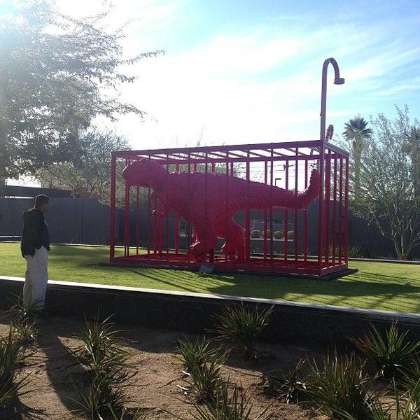 Снимок сделан в Phoenix Art Museum пользователем Cathy B. 12/26/2012