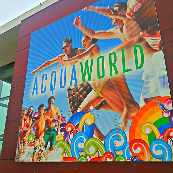 Foto tomada en Acquaworld - Fun, Fit & Spa por Sergio N. el 7/13/2013