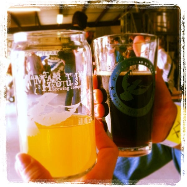 Photo taken at Martin House Brewing Company by Patricia E. on 9/14/2013