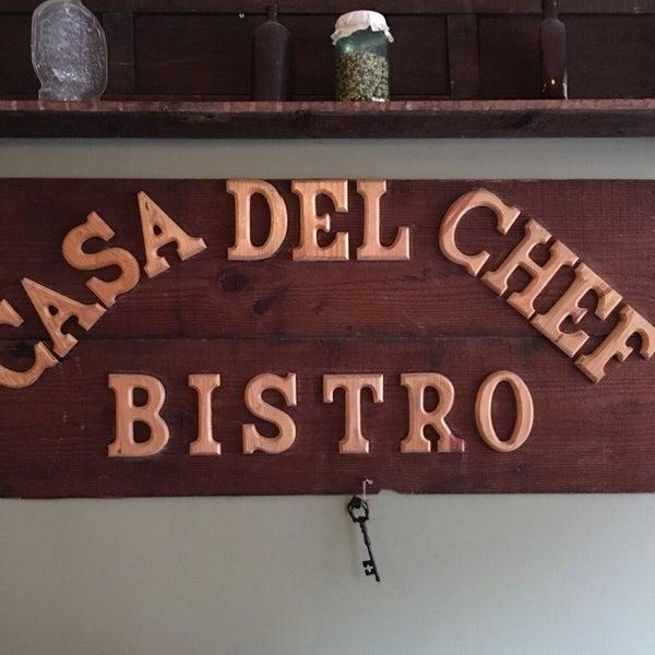 6/5/2016에 SavorySweetLive M.님이 Casa Del Chef Bistro에서 찍은 사진