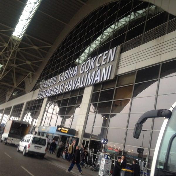 Снимок сделан в Аэропорт Стамбул им. Сабихи Гёкчен (SAW) пользователем Ömer Sabri K. 11/14/2013