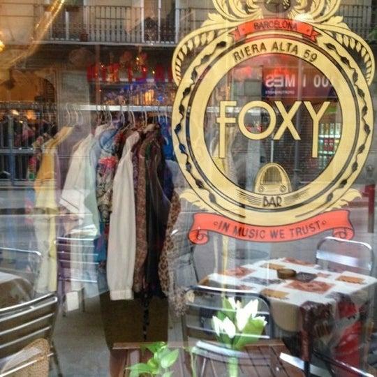 Foto tomada en Foxy Bar por Rafael G. el 11/11/2012