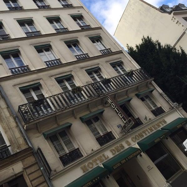 Photo prise au Hôtel des Deux Continents par Marcia A. le10/15/2014