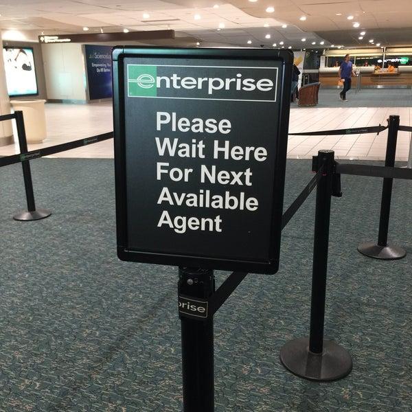 Enterprise Car Rental: Orlando International Airport