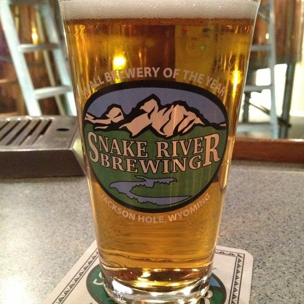 Das Foto wurde bei Snake River Brewery & Restaurant von eric am 3/6/2013 aufgenommen