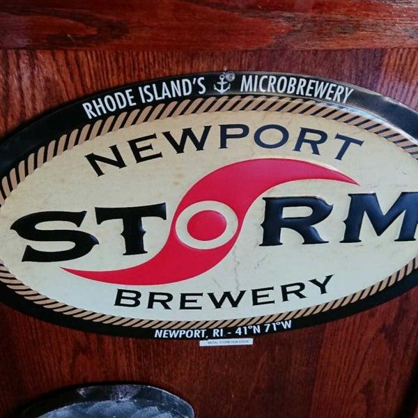Das Foto wurde bei Newport Storm Brewery von Johan W. am 10/23/2017 aufgenommen
