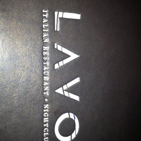 12/9/2012 tarihinde Judy T.ziyaretçi tarafından Lavo'de çekilen fotoğraf