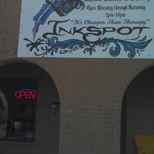 Ink Spot Tattoo Parlor In Big Spring
