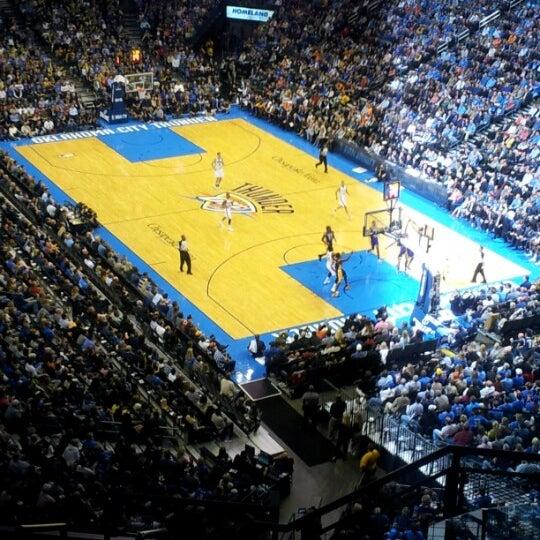 Das Foto wurde bei Chesapeake Energy Arena von Mark B. am 12/8/2012 aufgenommen