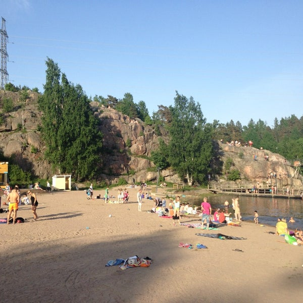 Das Foto wurde bei Pikkukosken uimaranta von Juhani P. am 6/2/2013 aufgenommen