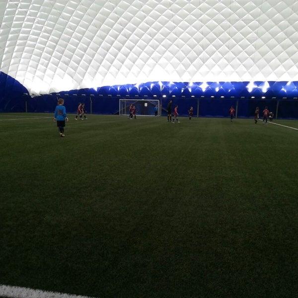 Das Foto wurde bei Štadión FK Senica von Natália D. am 3/16/2014 aufgenommen