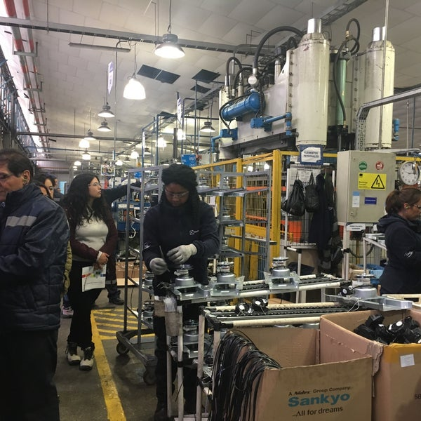 Photos At Electrolux Factory In Maipú