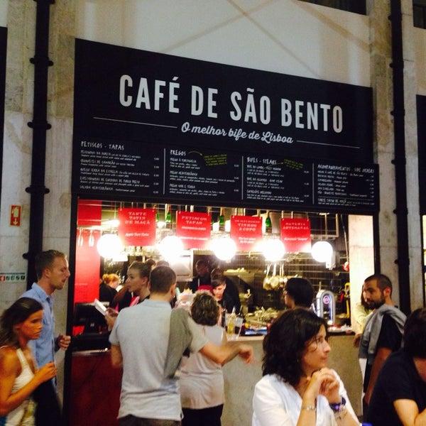 O melhor bife de Lisboa . Merecido mesmo