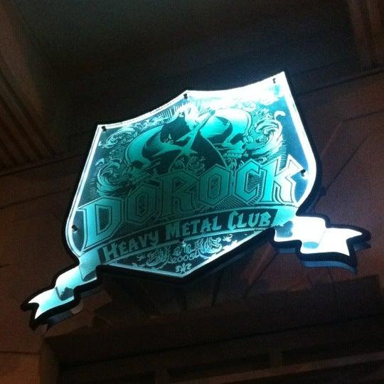 9/29/2012 tarihinde Burak K.ziyaretçi tarafından Dorock Heavy Metal Club'de çekilen fotoğraf