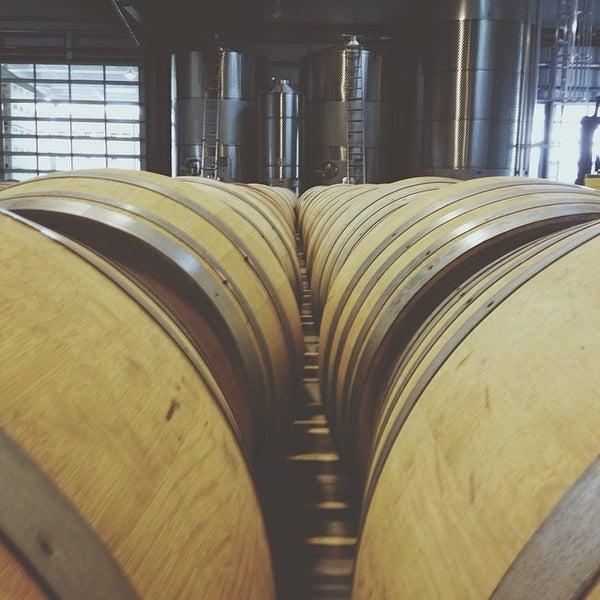 Photo taken at Kosta Browne Winery by Brenden N. on 4/11/2014
