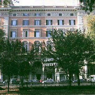 Foto tirada no(a) Hotel Napoleon Roma por no more em 11/15/2013