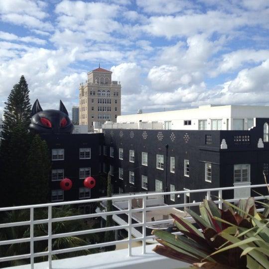 12/4/2012にStephen P.がDream South Beach Hotelで撮った写真