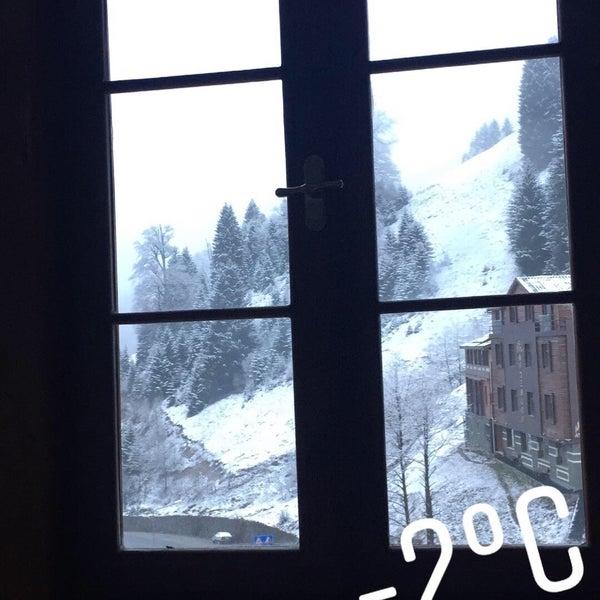 2/18/2018 tarihinde Nuran Ç.ziyaretçi tarafından Ayder Resort Hotel'de çekilen fotoğraf