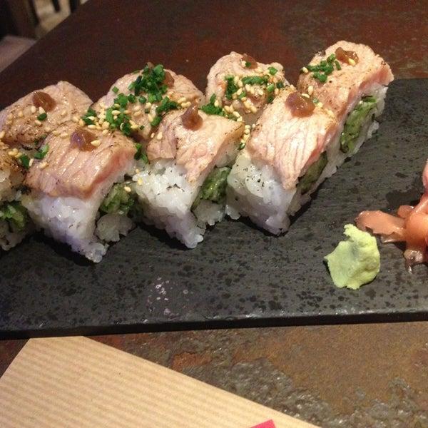 Salmon flambeado con algo de ciruelas, uno de mis favoritos