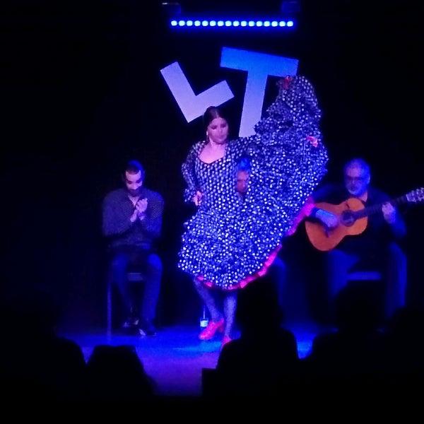 Снимок сделан в Las Tablas Tablao Flamenco пользователем Seregina A. 2/27/2017